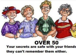 Over 50 Your Secrets are Safe