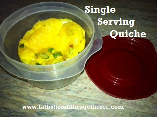Single Serving Quiche