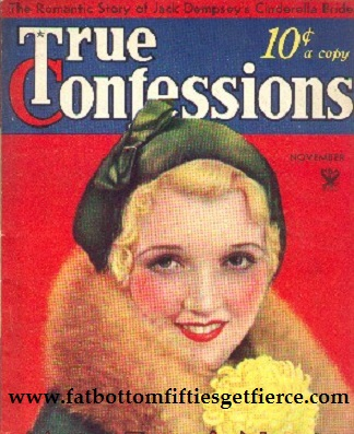 True Confessions at fatbottomfifties