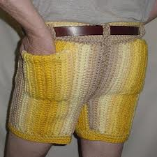 knitted hotpants