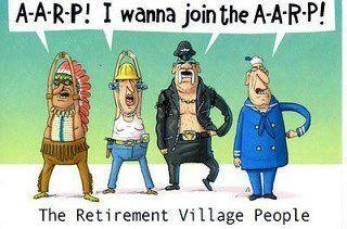 AARP cartoon