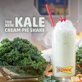 Kale milkshake