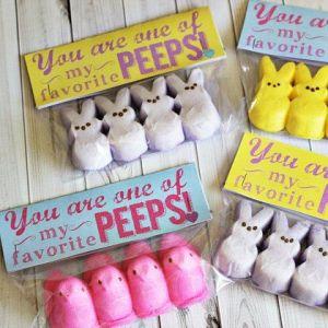 Peeps Easter favor