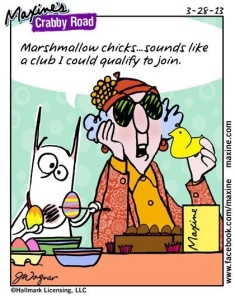 Easter humor with Maxine