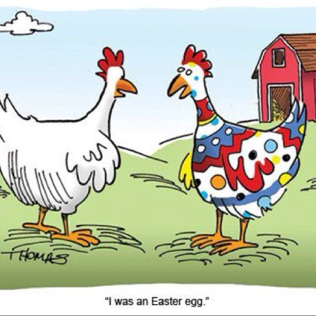 Day Before Friday Five – Easter Humor