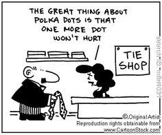 Polka dots - the new black