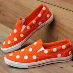 polka dot shoes casual