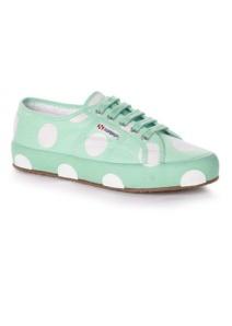 polka dot tennis shoe