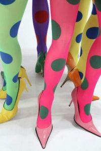 polka dot stockings