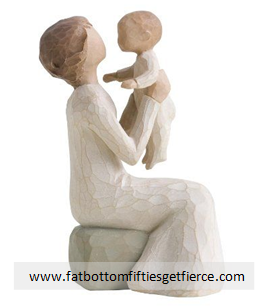 4) Can't help it, I love the expression of love and joy this little statue conveys.