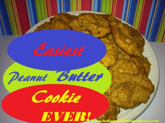 Easiest Peanut Butter Cookies EVER!
