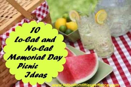 10 Lo-Cal and No-Cal Memorial Day Picnic Ideas