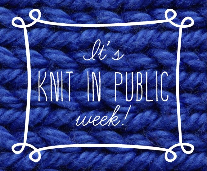Knit in PublicWeekCapture