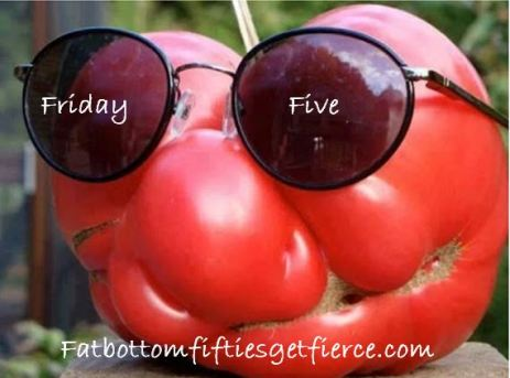 Friday Five - Swimming in Tomatoes?