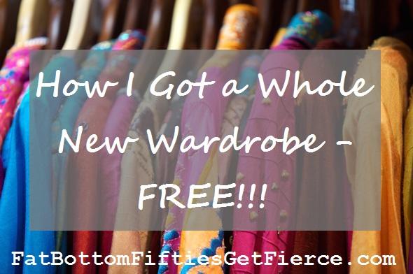 How I Got a Whole New Wardrobe - Free!!