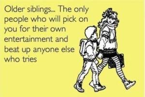 older sibling
