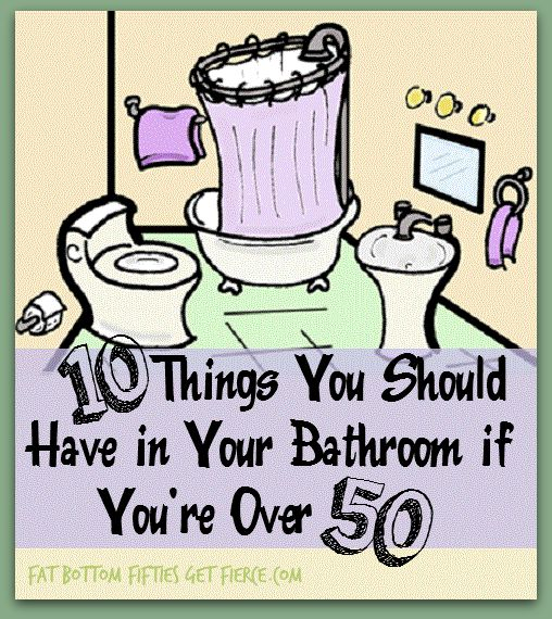 10 Things You Should Have in Your Bathroom if You're Over 50