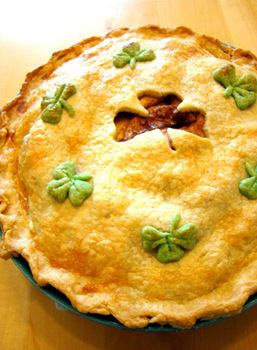 St. Patty's Day Apple Pie