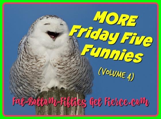 More Friday Five Funnies (Vol 4)