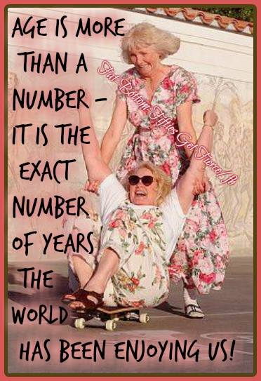 Age is Not Just a Number