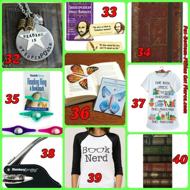 50+ Stocking Stuffers for Book Lovers